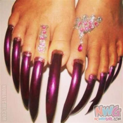 Long Nails Meme - top 10 toenail designs that went a little too far humor