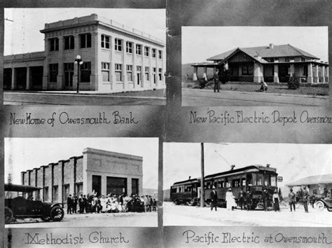 1914 four buildings in canoga park formerly called