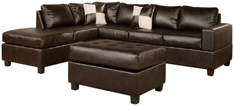 Leather Sectional And Ottoman by Leather Sectional Furniture Guide Leather Sofa Org