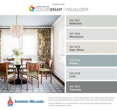 i found these colors with colorsnap 174 visualizer for iphone by sherwin williams reflection sw