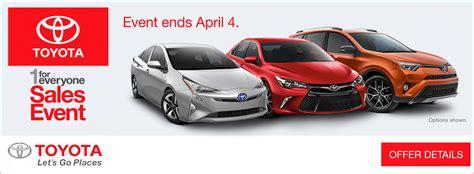 Toyota Hanlees Hanlees Auto 1 For Everyone Sales Event At Hanlees