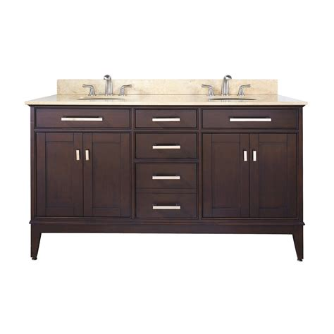 avanity madison  madison   bathroom vanity  countertop  undermount double sink