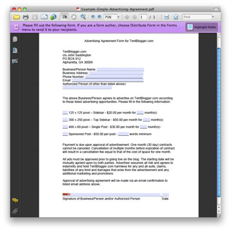 blogger templates for advertising crafting a simple blog advertising contract or agreement