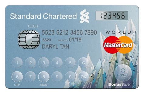 standard chartered bank card standard chartered bank 1st to launch mastercard s display