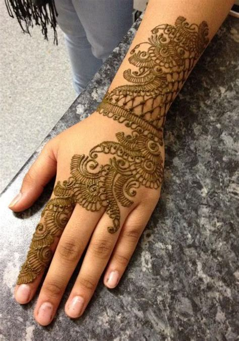 simple henna designs for hands step by step hijabiworld simple and easy henna designs for hands step by step 2017 1