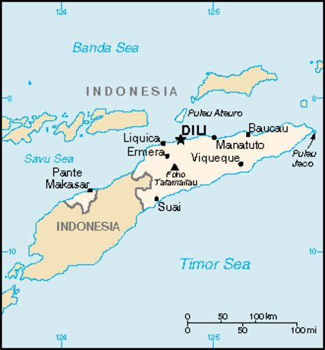 east timor maps map of timor leste terrain area and outline maps of