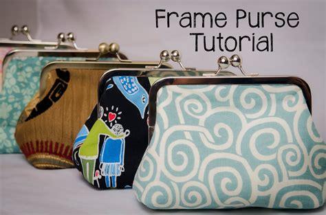 free pattern frame purse frame purse tutorial sewplicity