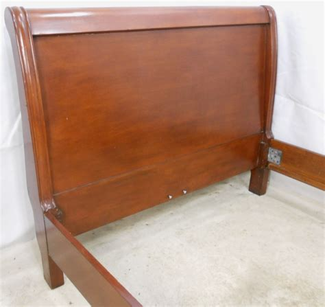 antique sleigh bed antique victorian style mahogany double sleigh bed sold