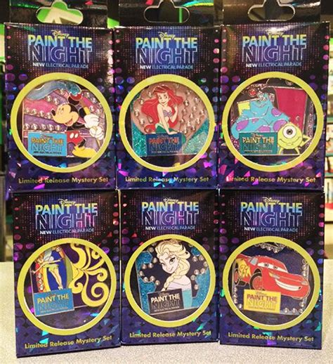 paint nite supplies new paint the pins debut at the disneyland resort