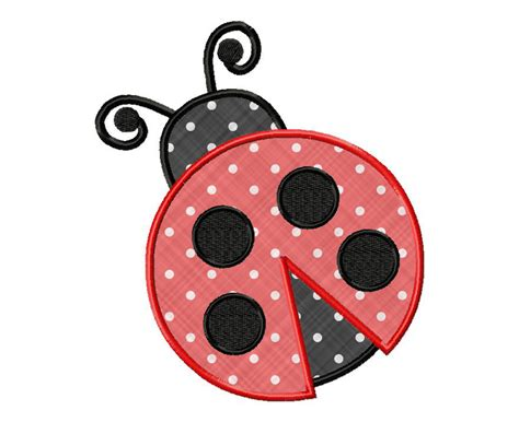 embroidery design ladybug ladybug applique machine embroidery design