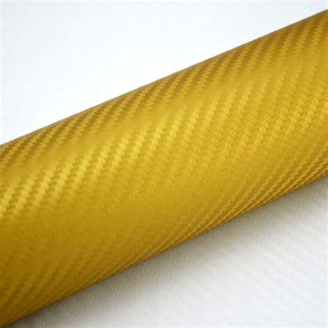 Autofolie Blasen Entfernen by 4 89 M 178 Blasenfrei 3d Carbon Folie Gold Luftkan 228 Le