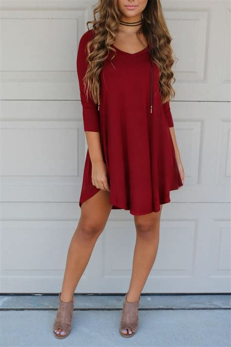 Dress Kemeja Merah Tunik Dress Maroon 1000 images about simple on teal casual and the shorts