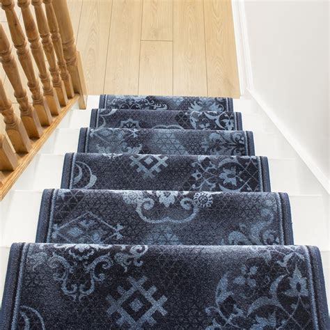 Blue Rug Runner by Blue Stair Runner Rug Pallas