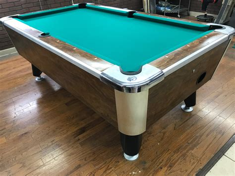 6 1 2 bar pool tables used coin operated bar pool tables