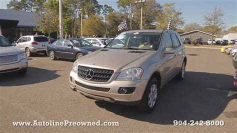 2006 mercedes ml350 review autoline preowned 2006 mercedes ml350 4matic for sale
