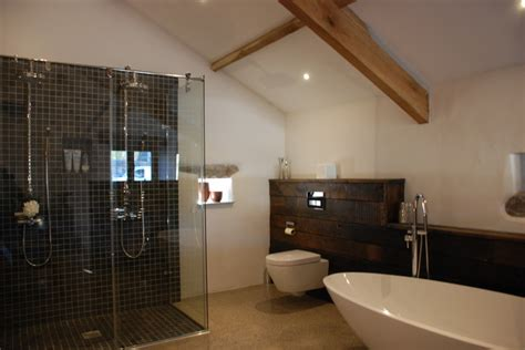 barn conversion bathrooms grade ii listed medieval barn conversion bude cornwall