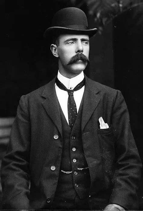 A elegância masculina da década de 1910. | Homem