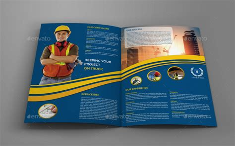 construction company brochure bundle vol 1 by owpictures