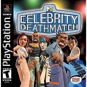 celebrity deathmatch game xbox 360 mtv celebrity deathmatch sony playstation