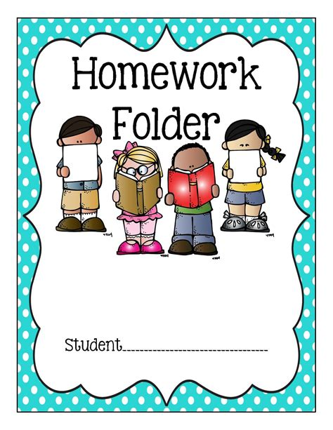 Homework Cover Sheet by Quot No Homework Quot Think Sheet Data Tracker Binder