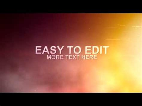 movie trailer templates for after effects after effects template iron movie trailer text youtube