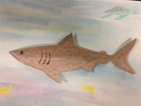How To Make A Shark Out Of Paper - paper to predator your own shark with sandpaper