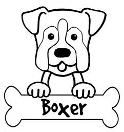 Coloringpageboxer Boxer Coloring Pages