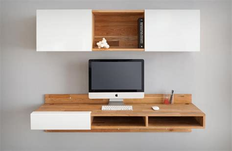 wall mounted desk by mashstudios