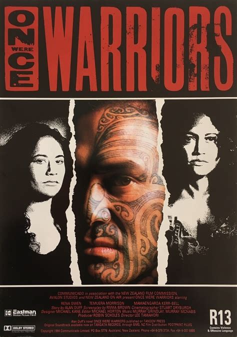themes in the film once were warriors once were warriors the film poster gallery