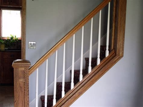 Spindle Banister by White Spindle Staircase Search Entryway