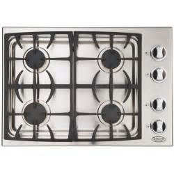 Drop In Cooktop Dcs Cooktops 30 Inch Propane Gas Drop In Cooktop By Fisher
