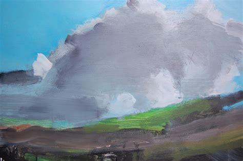 Abstract Landscape Uk Ian Mood Contemporary Landscape Paintings Peak