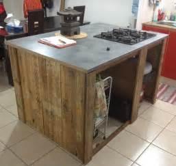 meuble cuisine ilot central sur mesure meubles et