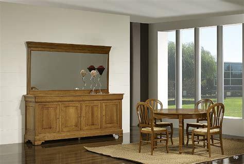 Meuble En Chene Massif 702 by Miroir Pour Buffet 4 Portes En Ch 234 Ne Massif De Style Louis