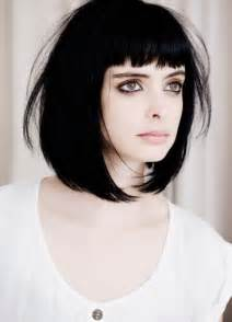 pictures of with hair and bangs and bob hairstyles with bangs haircuts hairstyles 2016 2017