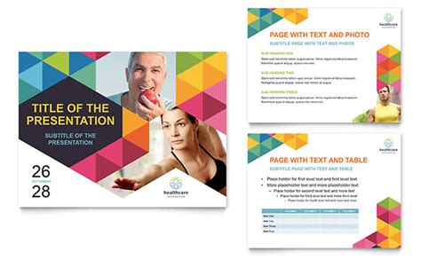 presentation templates health fair powerpoint presentation template design