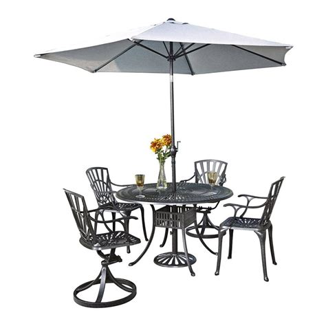 Patio Dining Sets With Umbrella Included 25 Brilliant Patio Dining Sets With Umbrella Included