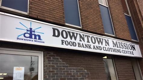new downtown mission food bank and clothing centre opens
