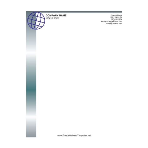 stationery letterhead templates stationery letterhead templates