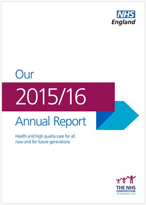 nationwide annual 2015 16 soccers 1907524487 nhs england 187 annual report 2015 16