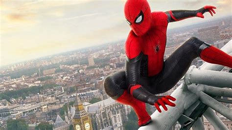 tom holland reveals   spider man   home posters