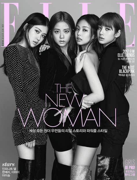 Blackpink Elle Magazine | magazine blackpink on elle korea august 2017 issue