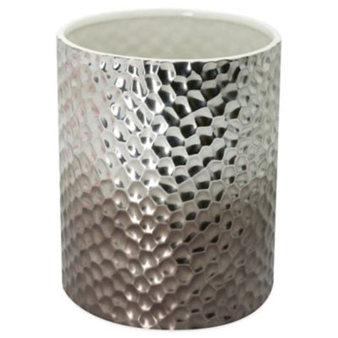 wastebaskets for bathrooms buy bathroom waste basket from bed bath beyond