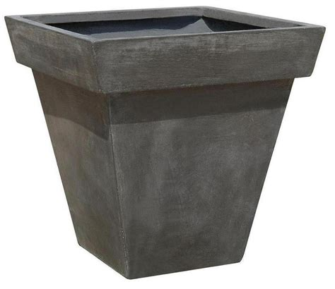 planter pot china short square flower pot sft8045 china flower pot