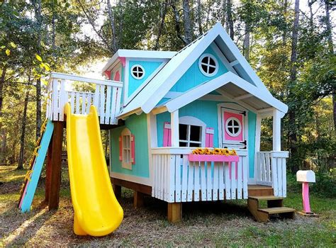 25 best ideas about big playhouses on