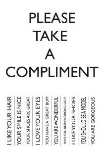 take what you need template can you accept a compliment the power of quot thank you quot
