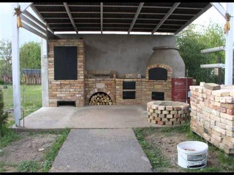 Meteran Wood 5m kerti konyha 233 p 237 t 233 se wood fired oven construction