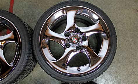 porsche oem wheels 18 quot porsche genuine factory oem turbo twist rims 996 c4s