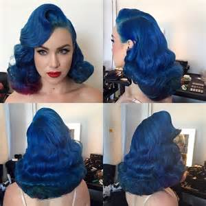black hair pin ups 25 best ideas about royal blue hair on pinterest dark