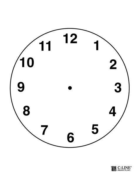 clockface template clock template pdf recycling paper handmade gift